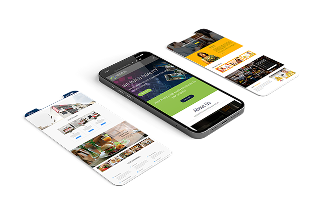 Ready to launch website mobile mock-up 1
