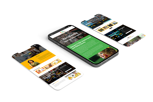 Ready to launch website mobile mock-up 3