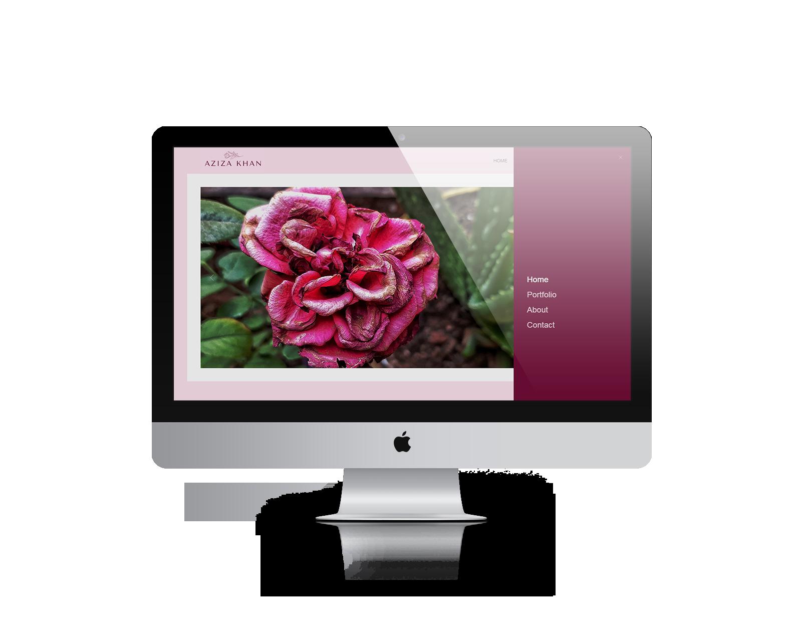 Ready to launch website desktop mock-up 4