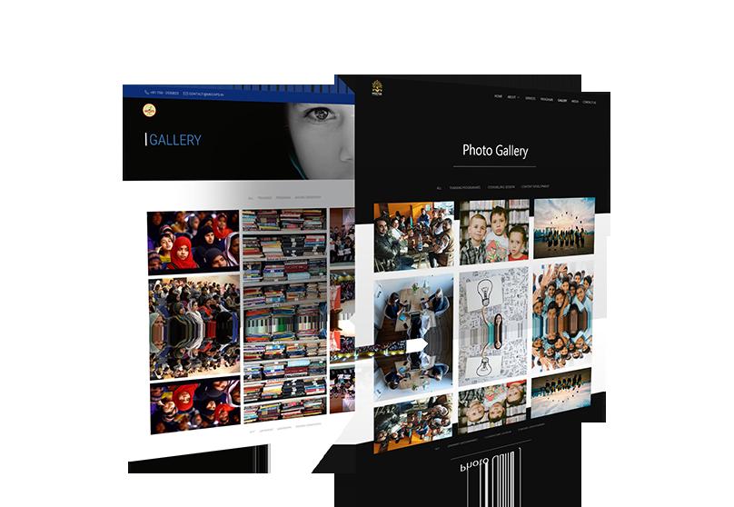 Website Design Mock-up 4 from sample site