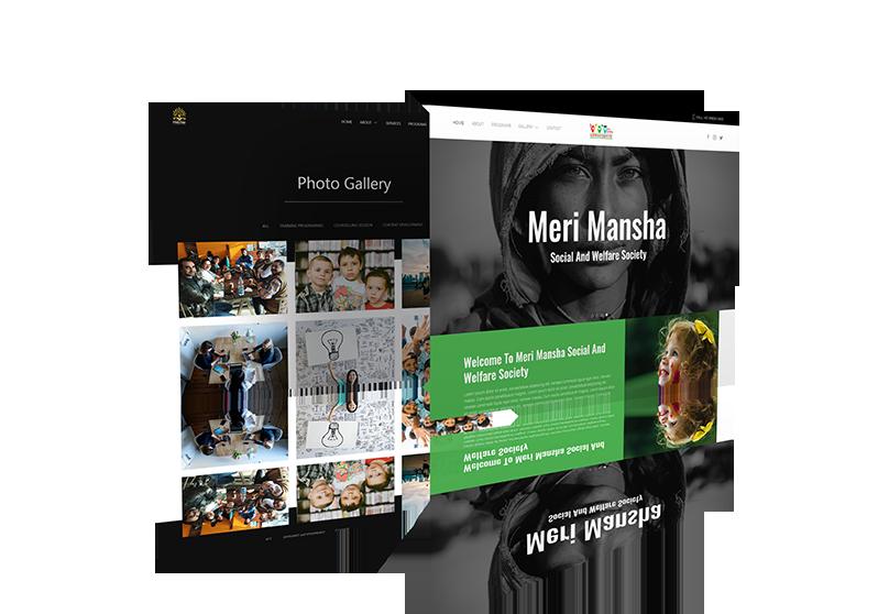 Website Design Mock-up 5 from sample site