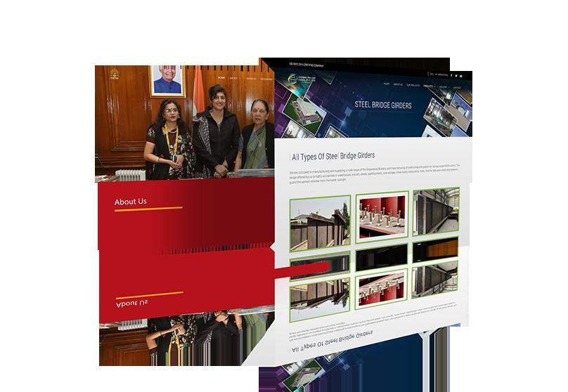 Website Design Mock-up 7 from sample site