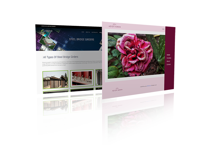 Website Design Mock-up 8 from sample site