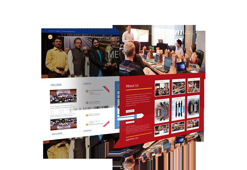 Website Design Mock-up 2 from sample site
