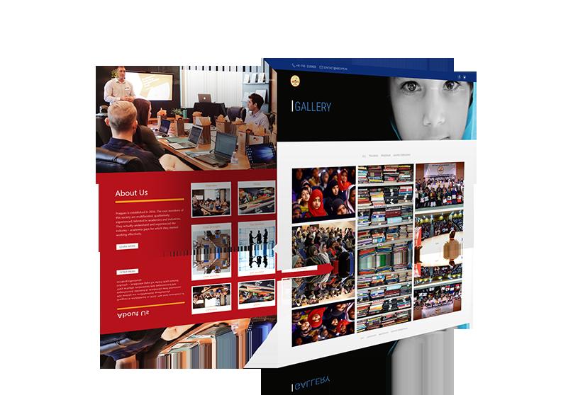 Website Design Mock-up 3 from sample site