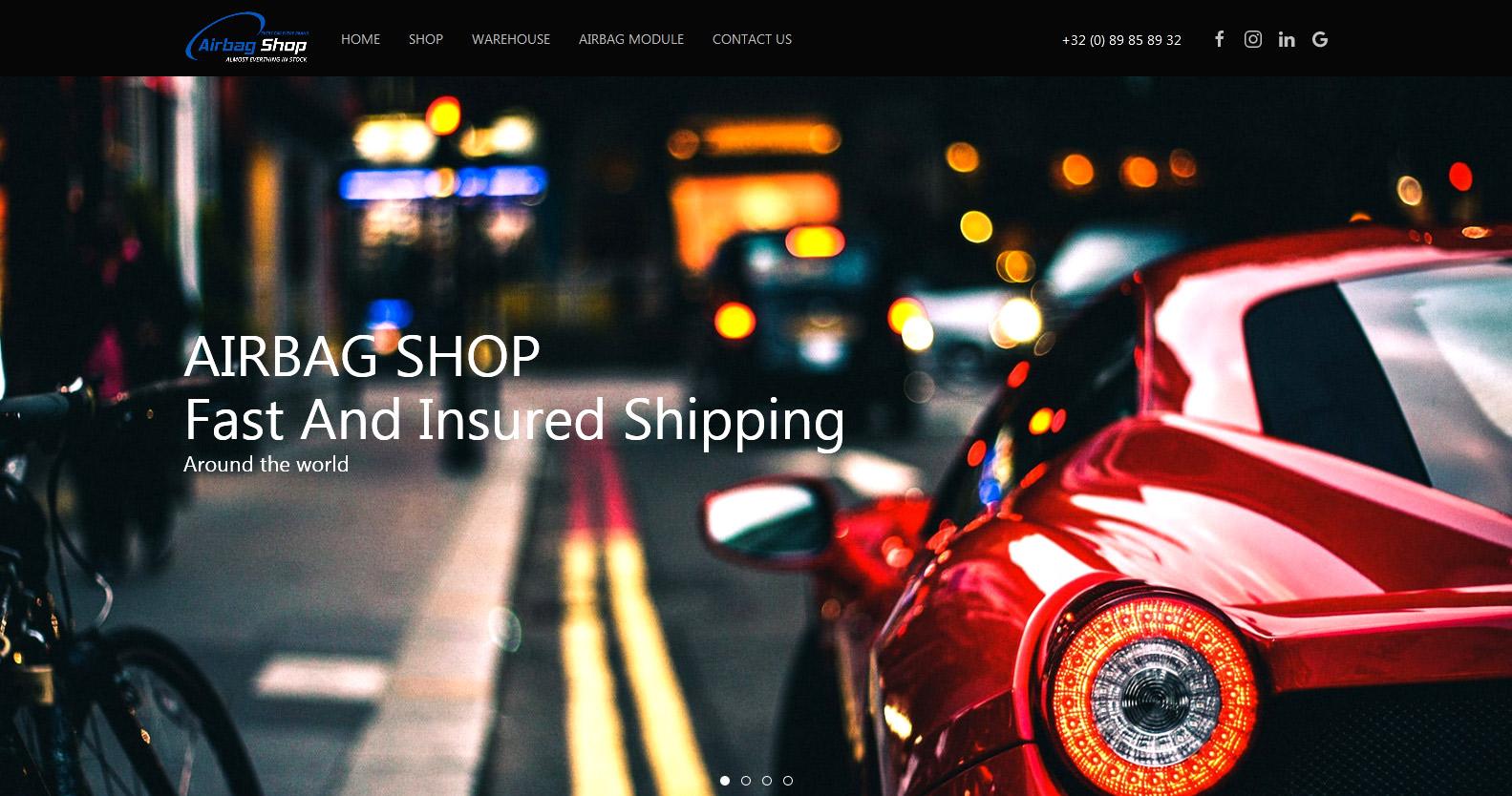 Automobile Demo Website