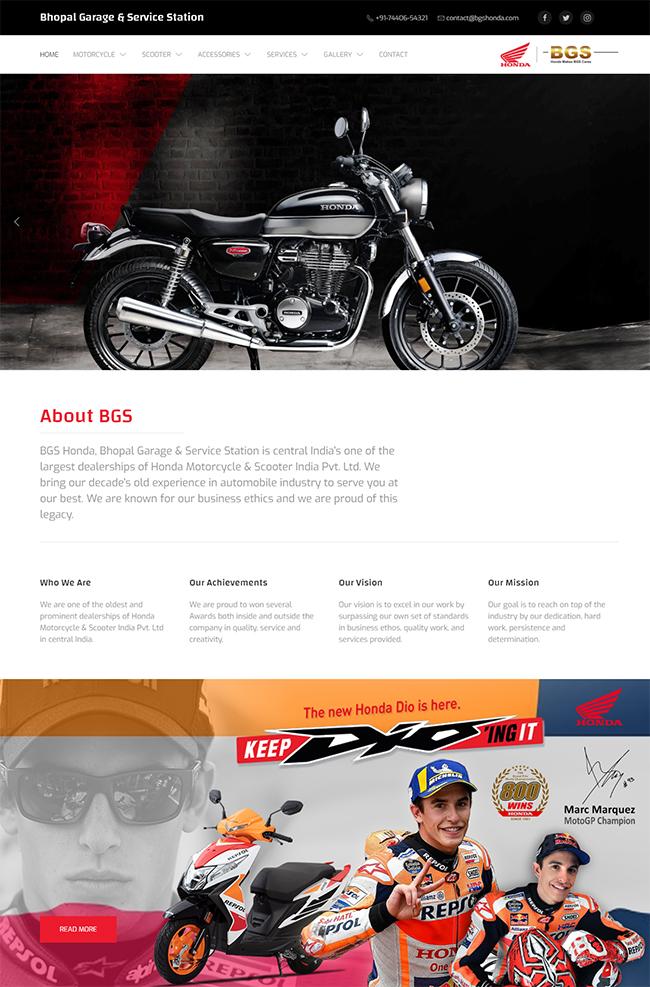 BGS Honda Homepage
