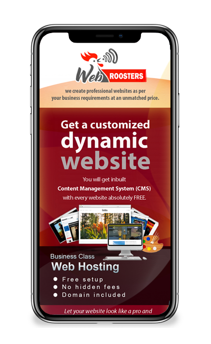 Mobile version of a responsive website