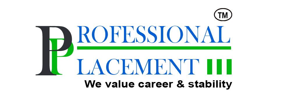 Logo of a website for Placement agency