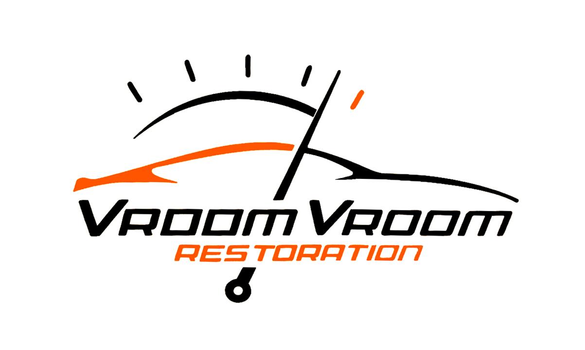 Vroom Vroom Restoration Color Logo